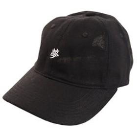 【Super Sports XEBIO & mall店:帽子】リネン刺繍キャップ YUME 897PA9ST1725 BLK