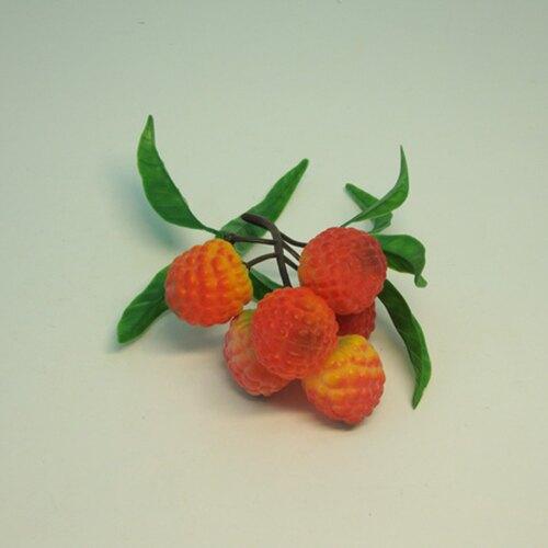 《食物模型》六瓣荔枝 水果模型 - B1065