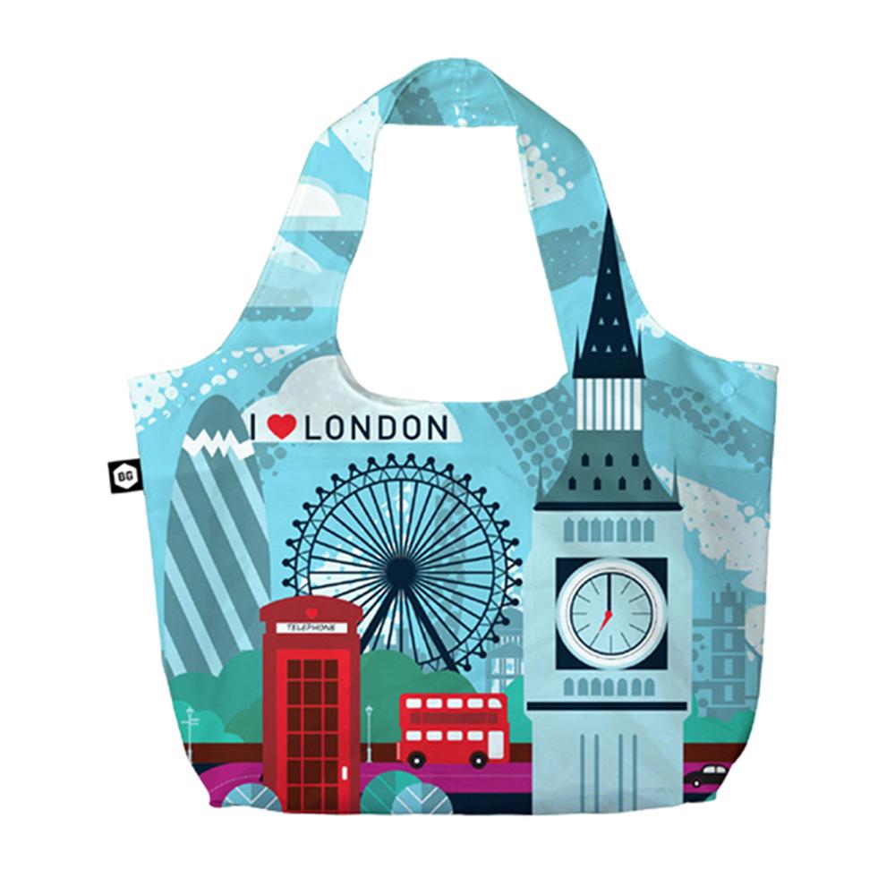 【BG Berlin】摺疊環保袋-倫敦