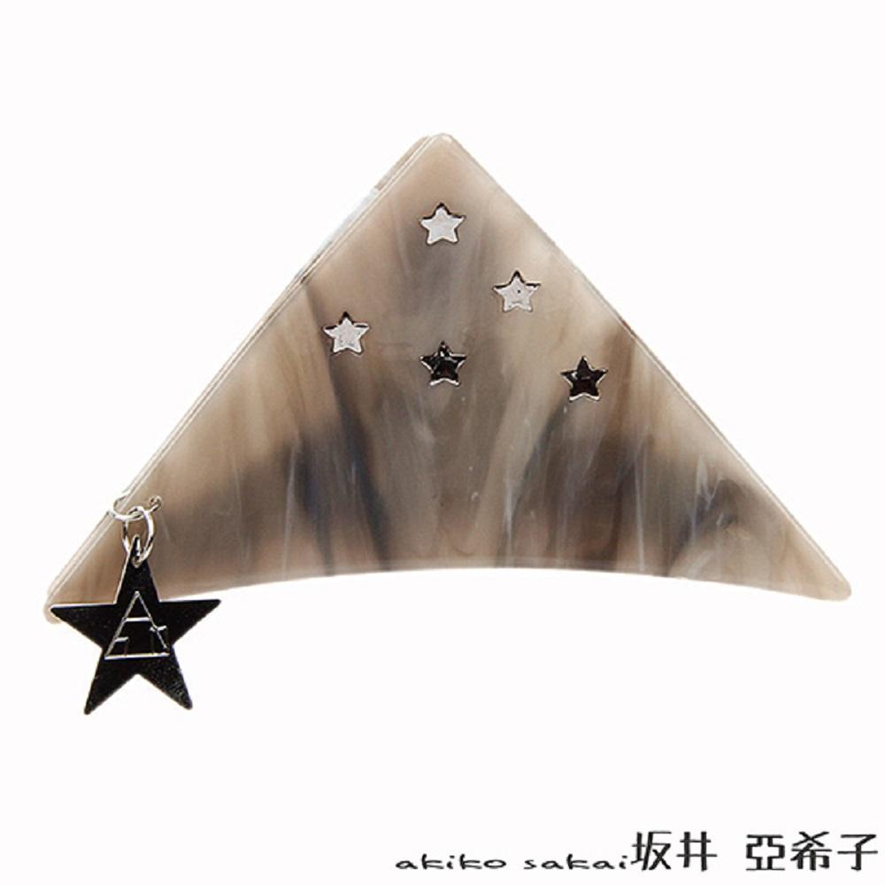 『坂井.亞希子』 滿天星立體吊牌髮夾