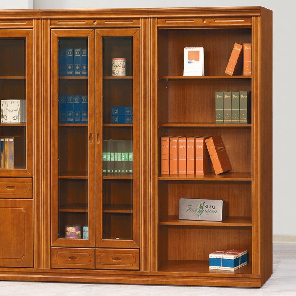 【MUNA】賽門檜木3X6.5尺開放式書櫃(單只)