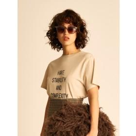 [マルイ] ハイメッシュロゴTシャツ/ミラオーウェン(Mila Owen)