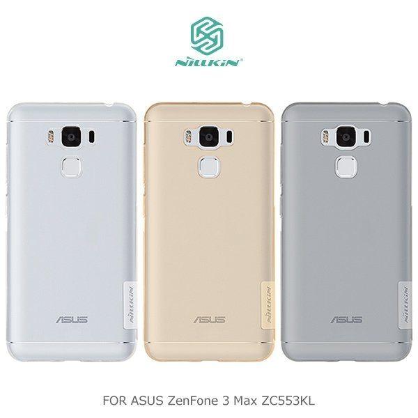 ASUS ZenFone 3 Max 5.5吋 ZC553KL NILLKIN 本色系列 軟殼 透明殼 保護殼 手機殼 清水套 華碩