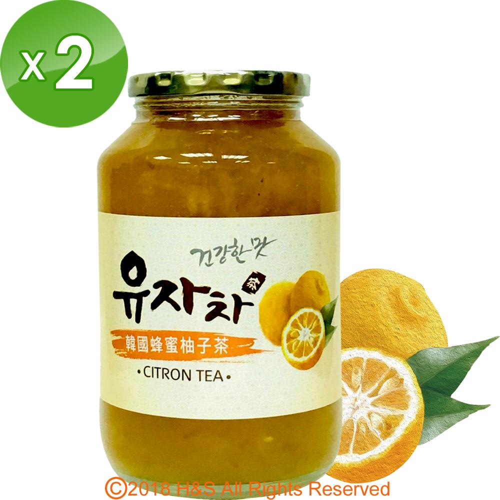《韓廣》韓國蜂蜜生柚子茶(1kg)2入組