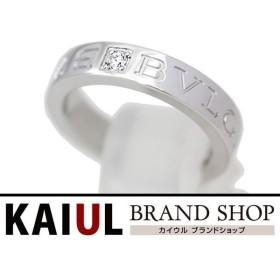 ブルガリ リング ダブルロゴ ダイヤリング ホワイトゴールド(WG) 新品同様品/SAランク/中古 ブルガリ指輪