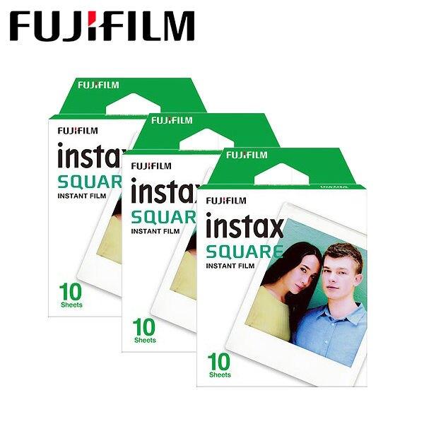 過期品 單盒 Fujifilm Instax Square Film 空白 拍立得底片〔SQ10 SP-3 專用底片〕