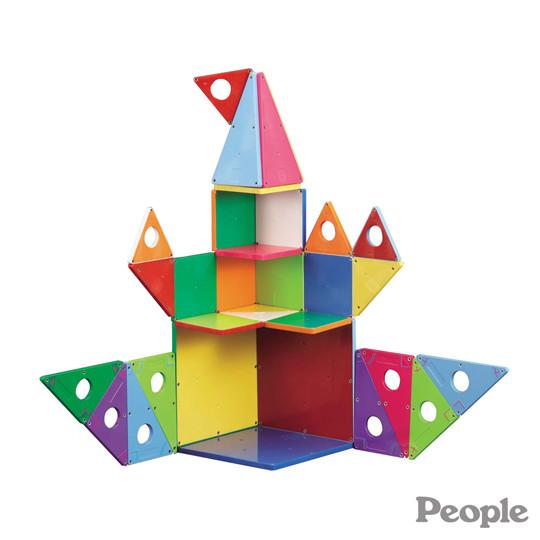 日本people-華達哥拉斯磁性幾何積木組合