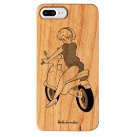 iPhone8Plus ケース iPhone7Plus ケース iPhone6sPlus ケース ボブa.k.aえんちゃん ウッドケース Gizmobies little rider お取り寄せ