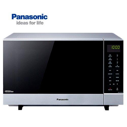 【送不銹鋼調味罐組】Panasonic 國際 NN-GF574 微波爐  27L 光波燒烤變頻