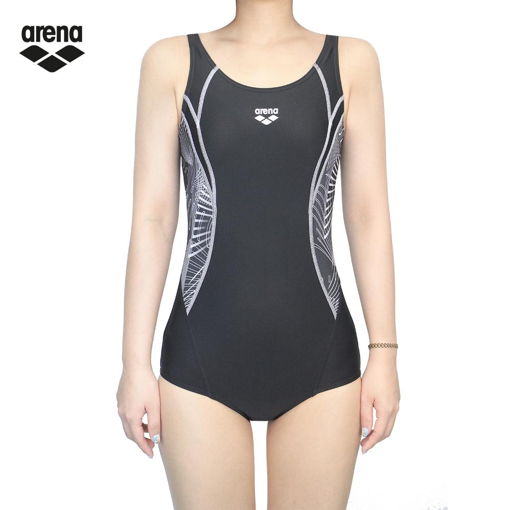 arena TMS8132W 女款連身三角泳衣