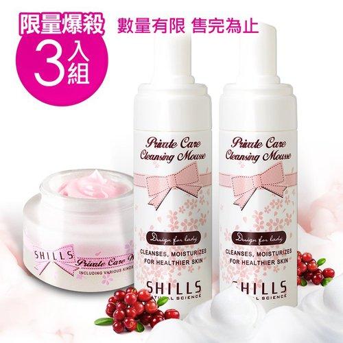 【妹妹救星】SHILLS蔓越莓私密保養3件組