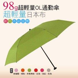 【momi宅便舖】98G超輕量通勤傘(奇異果綠) / 抗UV /MIT洋傘/ 防曬傘 /雨傘 / 折傘 / 戶外用品。人氣店家MOMI宅便舖的98克輕量晴雨傘有最棒的商品。快到日本NO.1的Rakut