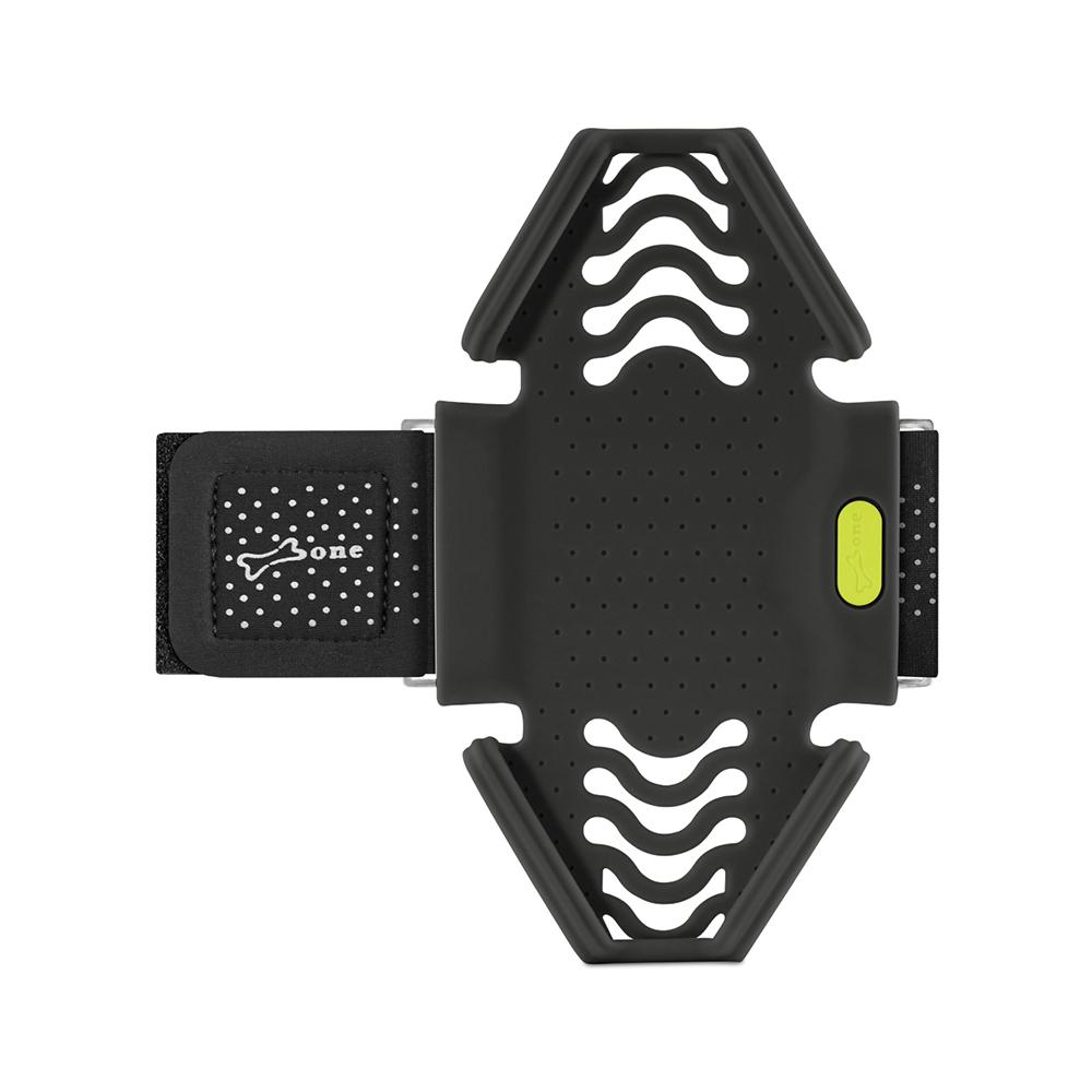【Bone】跑步手機綁 通用運動臂套 - 黑色(S)