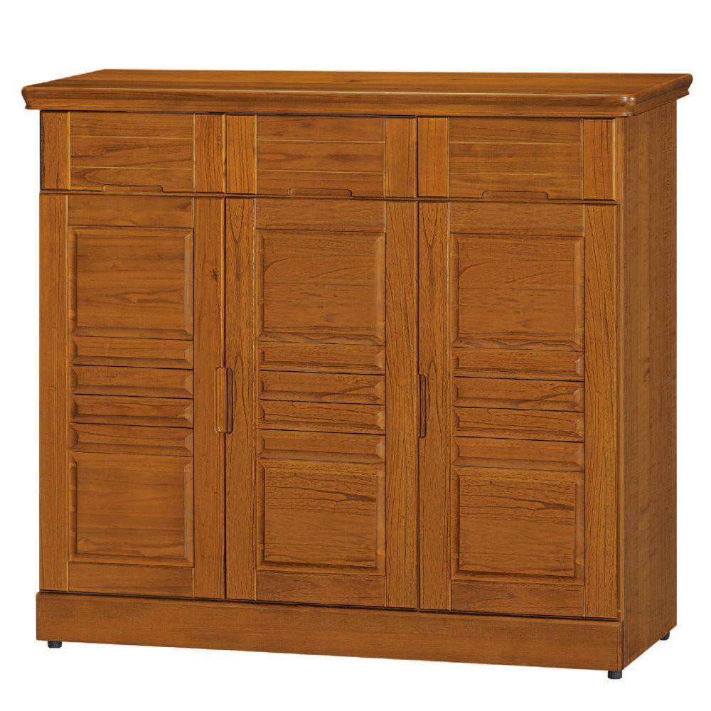 muna可亞樟木色4x3.5尺鞋櫃