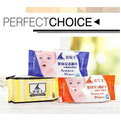 肯尼士 嬰幼兒高品質無菌純水柔濕巾36入