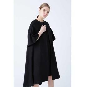 ADORE / アドーア 《BLACK LABEL》フラワーエンブロイダリー ワンピースドレス
