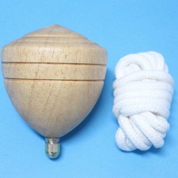 台灣製陀螺 (特大)直徑約95mm 木質陀螺 彩繪陀螺 實木陀螺/一袋10個入{定180}~美
