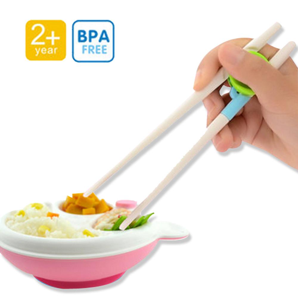 五雙入兒童學習筷子輔助筷練習筷-mp0016