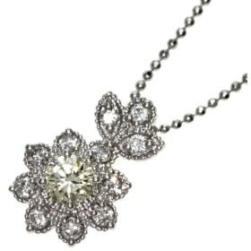 ダイヤモンド ネックレス プラチナPT900 Pt850  中古 SELECT JEWELRY セレクトジュエリー