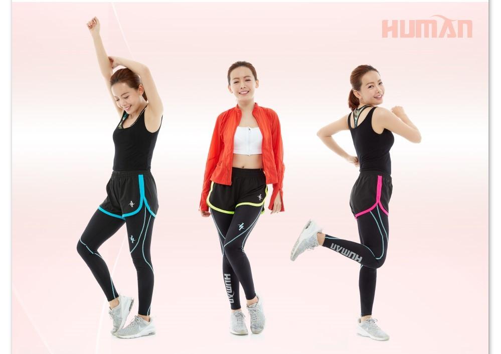 human 運動短褲 (女版-無口袋)