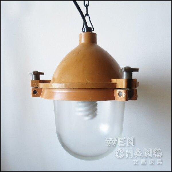 LOFT 美式鄉村 工業風 復古 船艙風格 船軌燈 吊燈 LC-077 *文昌家具*