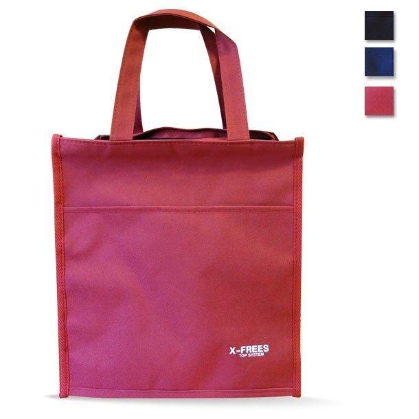 台灣製X-FREES 大容量 大方型 補習袋 才藝袋 A4文件 購物袋 手提袋 手提袋 環保袋 野餐 露營 萬用 防水_X大袋 HM701