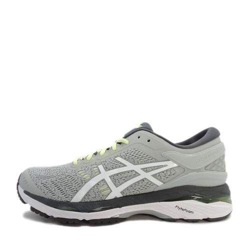 Asics GEL-Kayano 24 [T799N-9601] 女 鞋 運動 慢跑 健走  休閒  灰  白