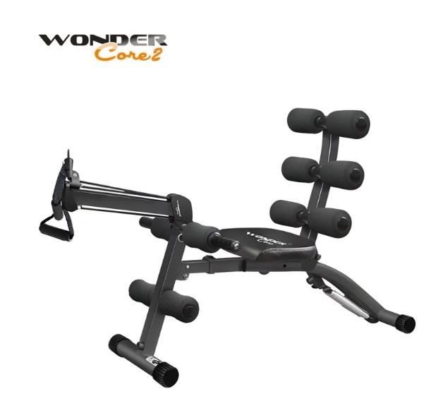 wonder core 2 全能塑體健身機強化升級版(暗黑)