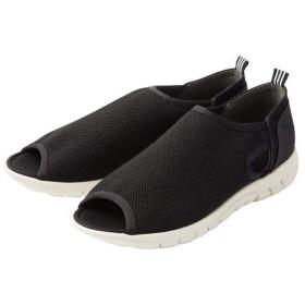 20%OFFスニーカーサンダル - セシール ■カラー:ブラック ■サイズ:S(22-22.5cm),M(23-23.5cm),L(24-24.5cm),LL(25cm)