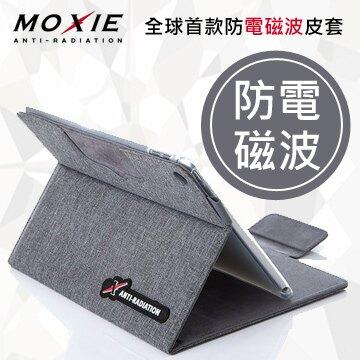 【愛瘋潮】99免運 現貨 可站立 Moxie X iPAD mini 4 SLEEVE 防電磁波可立式潑水平板保護套(織布紋洗練灰)