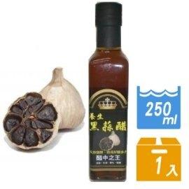 【雲林黑鑽】養生黑蒜醋-醋中之王250ml(2瓶入)