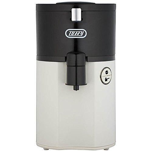 日本必買 日本Toffy K-CM2 復古白色 復古造型咖啡機/全自動研磨咖啡機/馬卡龍家電1杯150ml