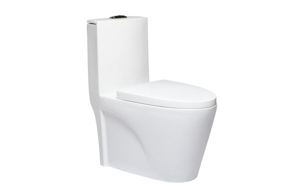 單體馬桶 美觀大方 雙龍捲漩渦沖水 抗汙釉面處理好清潔(同toto) 30/40cm 緩降馬桶蓋