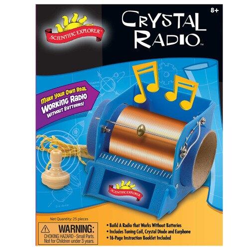 【美國Scientific Explorer】發現科學-迷你收音機實驗室 02012 / 組