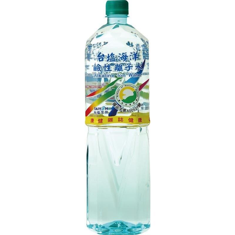台鹽 海洋鹼性離子水 600ml 【樂寶家】