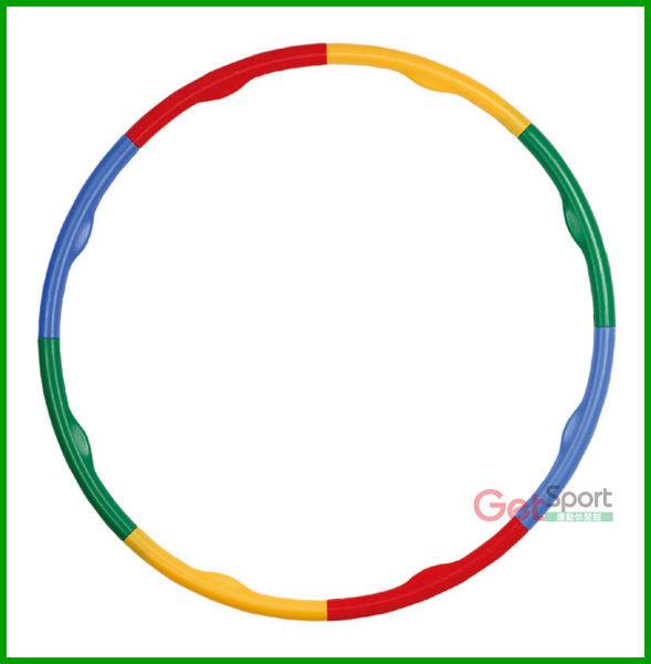 呼拉圈(波浪粗管)(組合式/按摩/硬管呼啦圈/美體健身環)