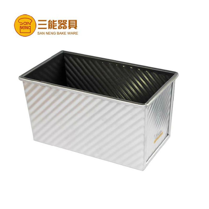 sn2055台灣製 三能 450g波紋土司盒 12兩吐司麵包 不沾土司模 吐司盒蓋sn20552