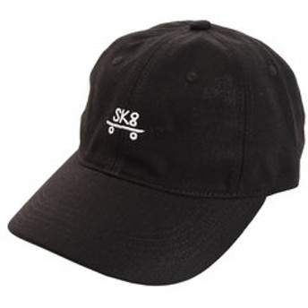 【Super Sports XEBIO & mall店:帽子】リネン刺繍キャップ SK8 897PA9ST1745 BLK