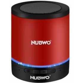 NUBWO A3+ 小型 円筒形 Bluetooth スピーカー コンパクト ブルートゥース ワイヤレス スピーカー Compact Mini Speaker 3Wドライバー【最