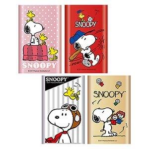 [富廉網] 【SNOOPY】史努比 10400mAh 行動電源 PMJ-004 點點粉/棒球紅/飛行銀/玩偶金