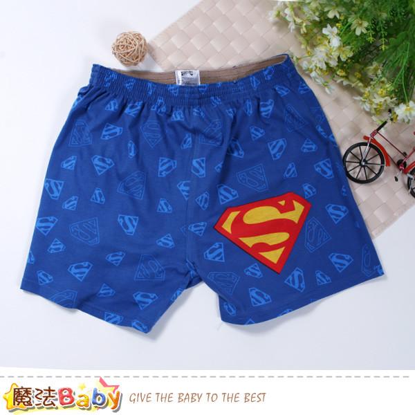 男性褲子 電影超人授權正版男性居家休閒短褲 魔法baby k50917