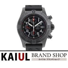 ブライトリング アベンジャー スカイライン ブラックスチール 世界限定2000本 M13380 ラバー 自動巻き メンズ 腕時計 SAランク
