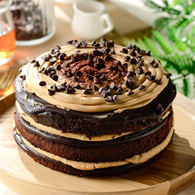 ❤️焦糖生巧克力蛋糕❤️  6吋~~~[聚會甜點~彌月蛋糕~團購美食~伴手禮]▶全館滿499免運
