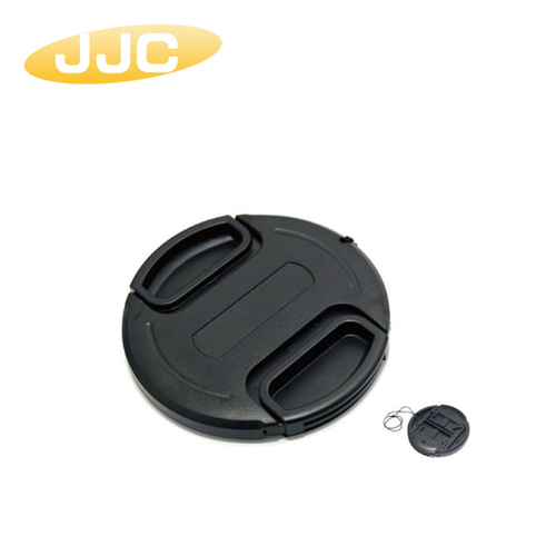 JJC 46mm夾扣式鏡頭蓋(附孔繩)