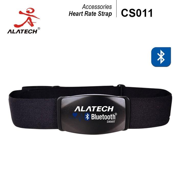 藍牙前扣式心率帶alatech cs011(織布綁帶)(心跳胸帶/心率監測/藍芽4.0/防水/穿戴)