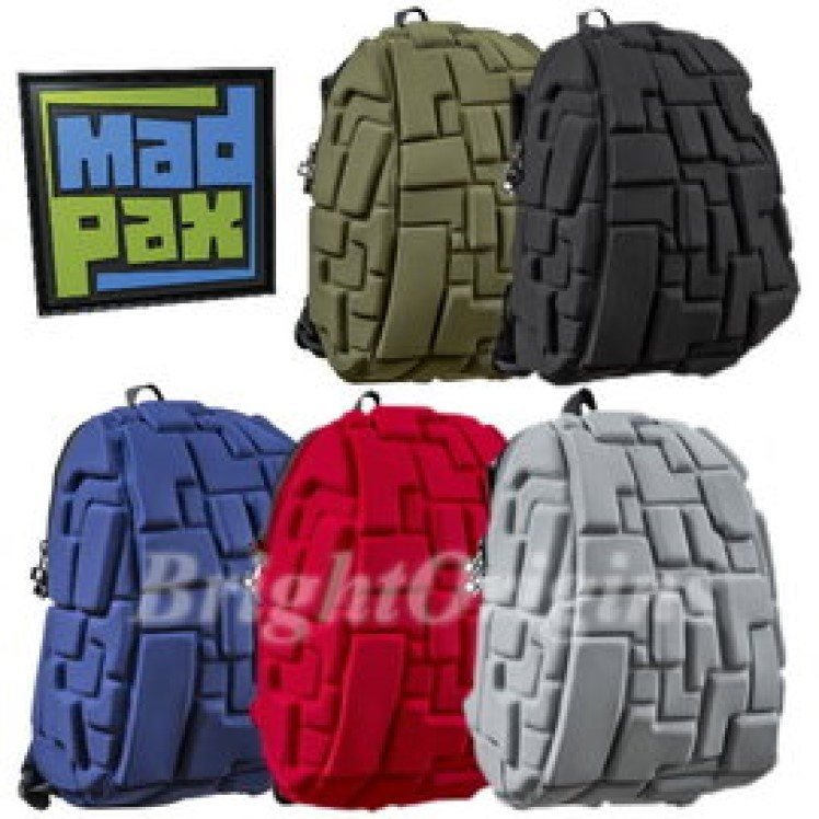 madpax時尚造型包-積木包-中包(共五色)