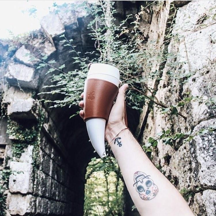 goat storygoat mug 真皮款 山羊角咖啡杯 12oz/350ml