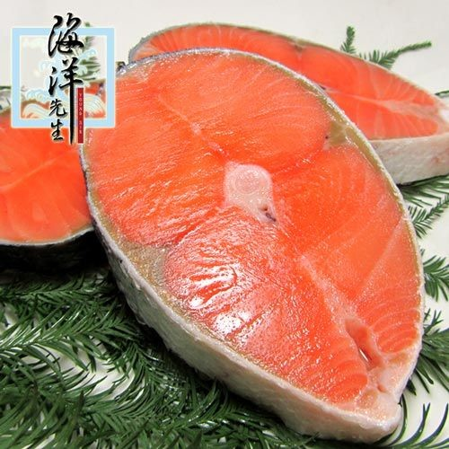 海洋先生 頂級鮭魚輪切