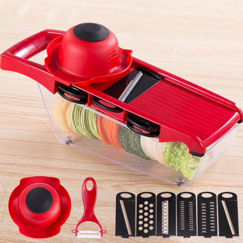 多功能切菜調理器10件組