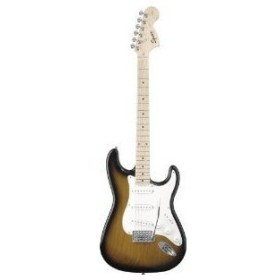 Squier by Fender (フェンダー) Affinity ストラトキャスター Maple, 2 Tone Sunburst エレキギター エ